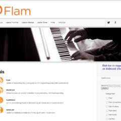 Hulp met die nuwe Flam webtuiste